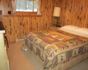 Hillside Cabin bedroom