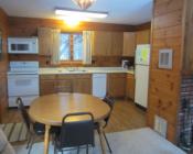 Hillside Cabin Kitchen