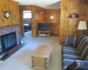 Hillside Cabin Living Room